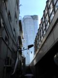 タワーのある坂道