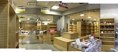 Re-Openに向け準備中の青山ブックセンター
