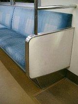 中央線201系の座席部分